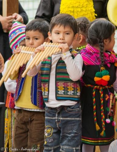 Parvulos JUNJI Iquique Año Nuevo Aymara