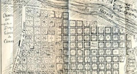 mapa de la ciudad