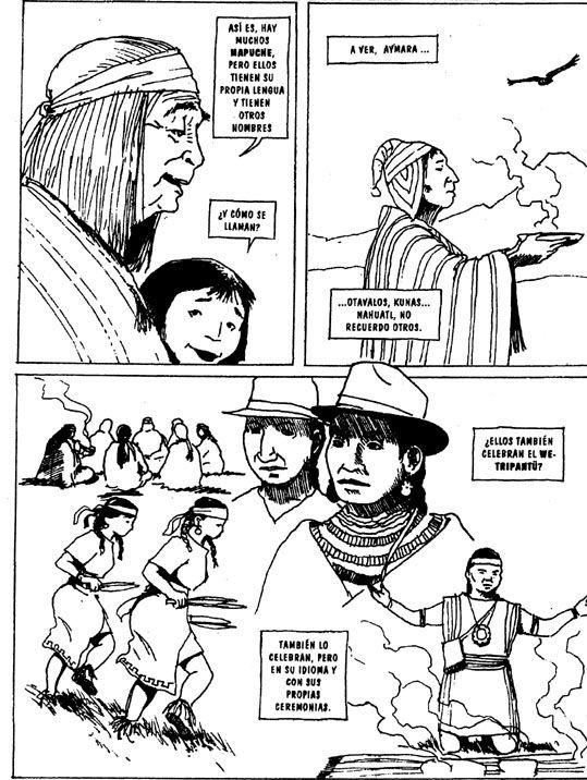Comics De Los Pueblos Originarios Periodico Indigena Ajayu