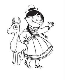 cholita-y-llama
